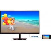 "Monitor IPS LED Philips 27"" 274E5QHSB/00, Full HD (1920 x 1080), HDMI, VGA, 5 ms (Negru)"