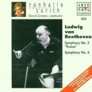 David Zinman - Beethoven: Symphonies Nos. 3 & 4 (0743215921424) (1 CD)