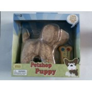 Petshop Puppy I Walk Bark & Wag My Tale Light Brown by New Toys