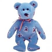 TY Beanie Baby - KOREA the Bear (Flag Pattern Version - Korea Exclusive)