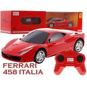 Model car Car Vehicle, Remote Controlled Car FERRARI 458 ITALIA 1:24 incl. Remote Control