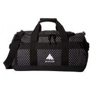 Burton Backhill Duffel Bag Small 40L Black Polka Dot Tarp