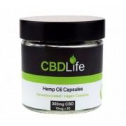 Boite de 30 Capsules de 10 mg de CBD (Cannabidiol) de CBDLife
