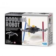 Kit De Fabrication Fun Mechanics Robot Doodle : Robot Dessinateur