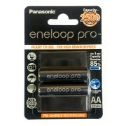Baterija Eneloop PRO black 2500mAh BL2