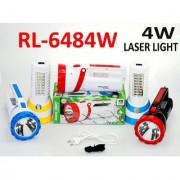 Rocklight RL-6484 4W LASER + 24 SMD Torch And Emergency Light