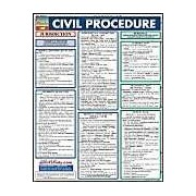Chart-Quickstudy Civil Procedu