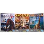 Dig A Dino Excavation Kit Series III 3-Pack Dinosaurs