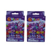 Orbeez Color Multi-Pack -2 Pack Refill Kit - 7 Colors - Includes 1 000 Orbeez beads each 2 000 beads Total -with mesh pull cord storage bag.