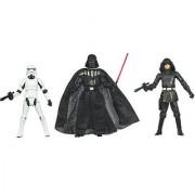 Kenner Star Wars A New Hope Special Exclusive Action Figure 3Pack Villain Set Stormtrooper Darth Vader Death Squad Commander