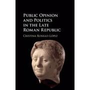 Public Opinion and Politics in the Late Roman Republic by Cristina Rosillo-Lopez