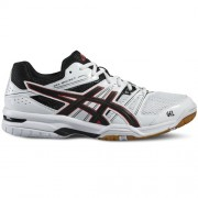 asics Herren-Volleyballschuh GEL-ROCKET 7 - white/black/vermilion | 44