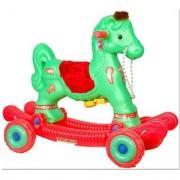 Green Red Chetak Horse