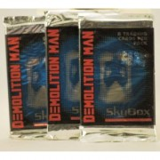 1993 - Skybox International - Demolition Man - Trading Cards - 21 Packs - Each Pack Contains 8 Cards - 168 Cards Total