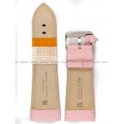 Pasek skórzany do zegarka - Diloy 302EA.30.13 - 30mm