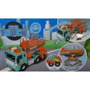 City Truck Műanyag teherautó gyerek játék Repair Vehicle - No.9988