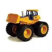 John Deer Monster Treads Small Scale Yellow Dump Truck