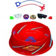 Beyblade - set Metal Fusion Super Battle cu arena inclusa
