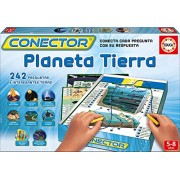 Conector - Planeta Terra, juego educativo en catalán (Educa Borrás 16384)