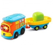VTech Go! Go! Smart Wheels - Motorized Freight Train with Cargo Car