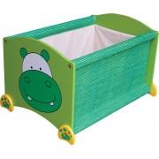 Speelgoed opbergstapelkist hippo