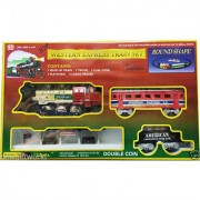 Western Express Train toys Set 12 Pcs Battery Operated Train Set