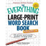 Everything Large-print Word Search Book, Volume Iv by Charles Timmerman