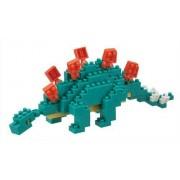 Nanoblock - Stegosaurus, Dinosaure, 3d-Puzzle, Mini Collection, 240 Pièces