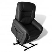 Elektrische Sta-op-stoel (zwart)