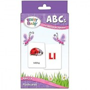 Brainy Baby ABCs Flash Cards Set Introducing the Alphabet Deluxe Edition