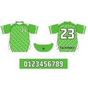 FLOORBEE Uniform RN S zelená / bílá