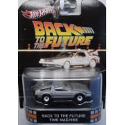 Back To The Future Time Machine DeLOREAN Hot Wheels Retro 1:64