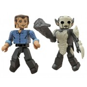 Diamond Select Toys Marvel Minimates: Thor 2: Series 53 Selvig And Dark Elf Action Figure 2-Pack