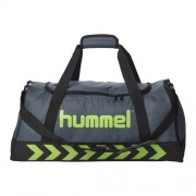 hummel Sporttasche AUTHENTIC - dark/slate/green flash | XS