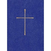 Book of Common Prayer:Leather Look Blue by Harper San Francisco