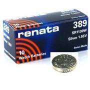 Renata 10 x 389 fabricada en Suiza pilas de litio tipo botón SR1130W