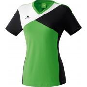 Erima Premium One T-shirt zöld/fekete/fehér poló