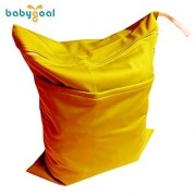 Babygoal Baby Waterproof Washable Reusable Wet And Dry Cloth Diaper Bag L07