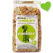 zoolove Hondenkoekjes Wild - Dubbelpak: 2 x 200 g