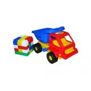Trampoliere Kuzia Dump Truck con il costruttore Construction Set (18 Pezzi)