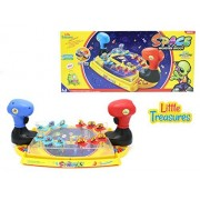 Space Battle Alien Shooter Game Set from Little Treasures Comes With 12 Aliens to Zap and Outer Space Battle Field