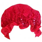 Shower Cap - Sparkly Red