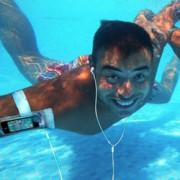 iSwim Waterproof Case w/Headphones