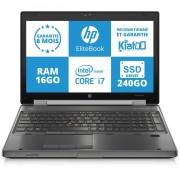 """HP ELITEBOOK 8570W 15"""" Intel Core i7 3520QM - 2.6 Ghz - Ram 16 Go - DD 250 Go"""