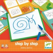Djeco - Malen lernen step by step - Tiere