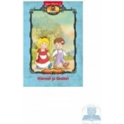Hansel si Gretel - Carte de colorat