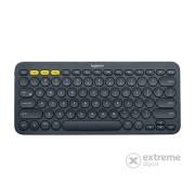 Tastatură Logitech K380 Multi-Device Bluetooth®, albastru închis (US, 920-007582)