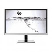 Monitor LED ProLine U2477PWQ, 16:9, 23.6 inch, 4 ms, argintiu/ negru