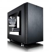 Carcasa Define Nano S Window, Mini Tower, neagra, fara sursa