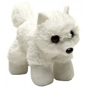 Wild Republic Ems Hug Arctic Fox Plush Toy